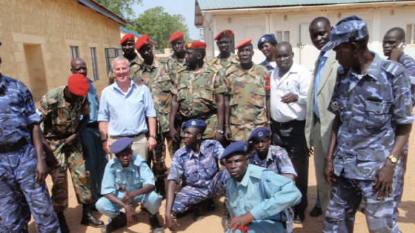 Members of South Sudan Security service with members of counter-raiding police service(Photo: file)